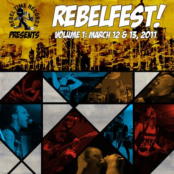 Rebel Fest comp cover