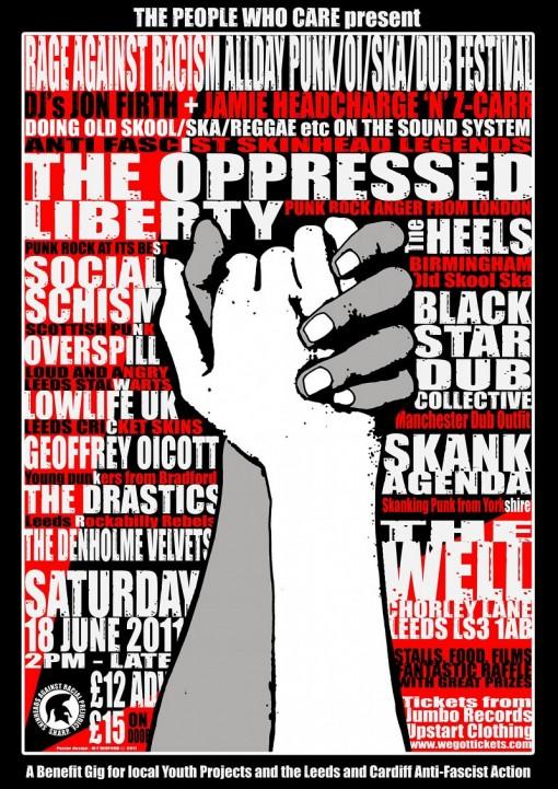 Antifa gig in Leeds