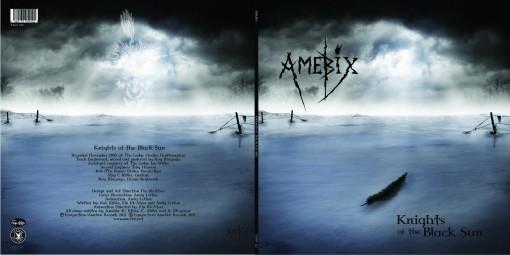 Amebix - Knights of the Black Sun sleeve