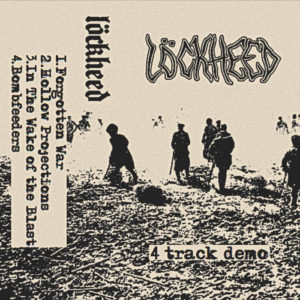 Löckheed – 4 Track Demo cover